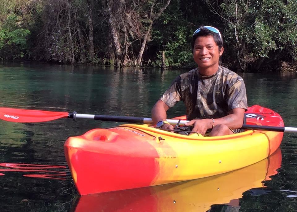 Ram BK of BK Adventure Kayaking Orlando